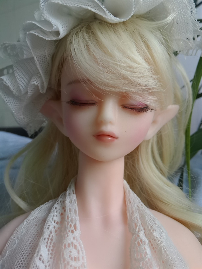 Charming elf high simulation body silicone entity font b doll b font non inflatable font b