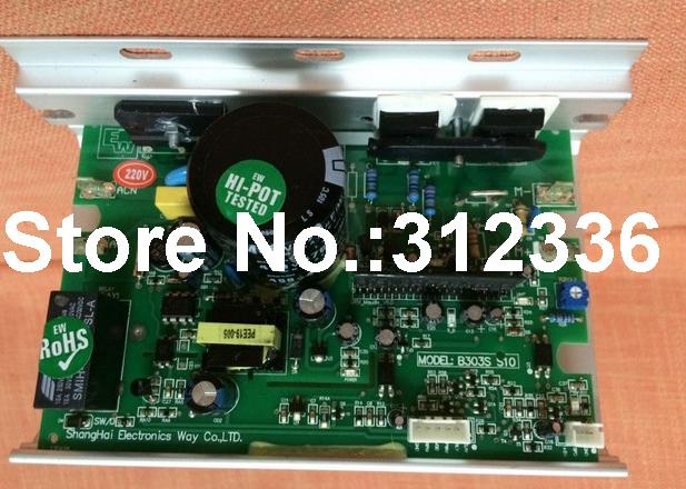 цена на Free Shipping B303S S10 Motor Controller drive plate single board computer JOHNSON T21 T210 T810 treadmill control circuit board