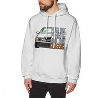 Casual W201 Car Hoodies Fashion Man 3D Print Picture Hoodie Long Sleeve