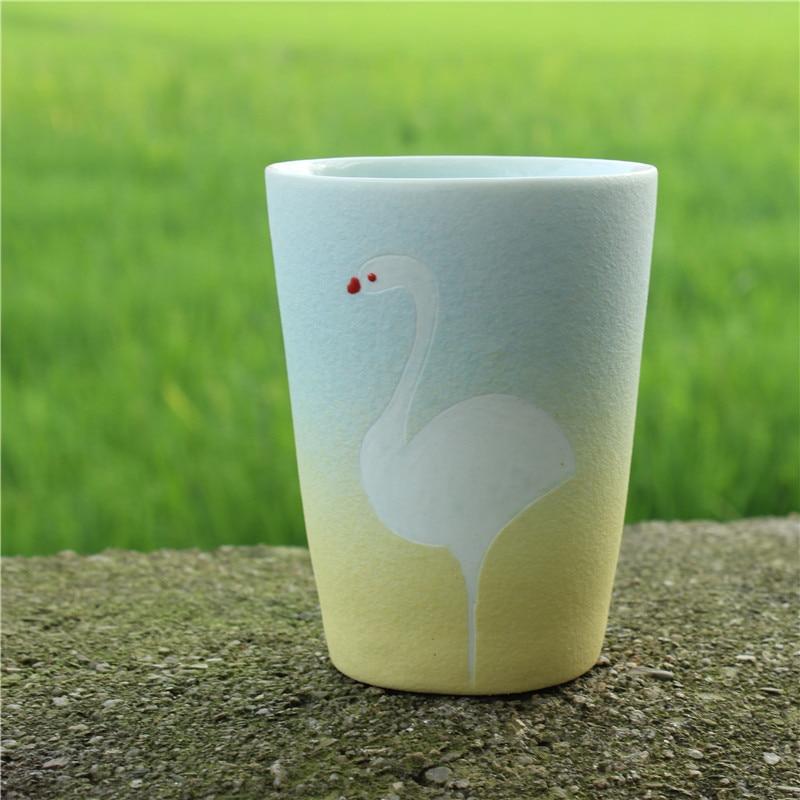 Perlengkapan minum china, Keramik putih zakka cangkir teh mug, - Dapur, ruang makan, dan bar