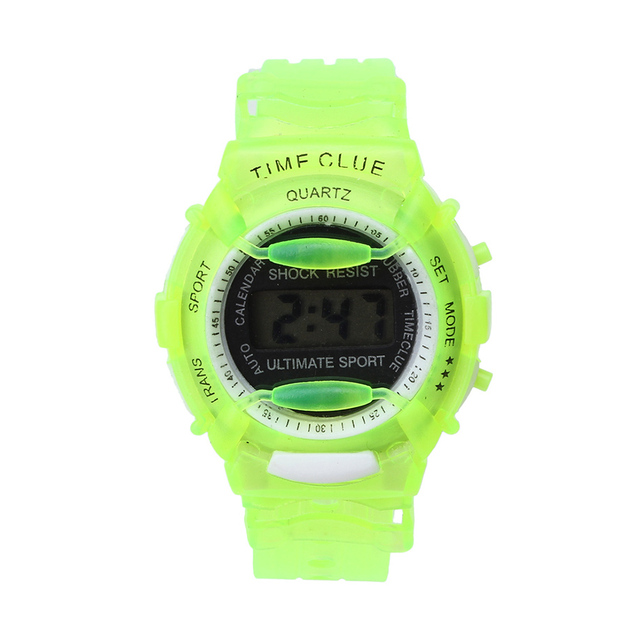 2017 Fashion Brand Boys Girls Children Students Waterproof Digital Wrist Sport Watch Kid's Watch Clock  Saat