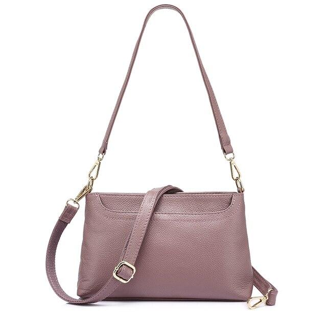 Женская сумка через плечо из натуральной кожи REALER купить на ... b02f382cb9b