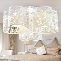 Free Shipping Modern Pastoral Indoor Home Warm Ceiling Lights Kid Bed Room Foyer Ceiling Lamps Dining