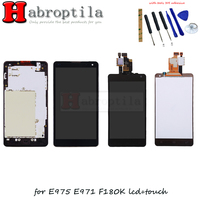 Pour LG Optimus G E975 LS970 F180 E971 E973 LCD Affichage Tactile Digitizer Assemblée Verre Outils Gratuits Remplacement
