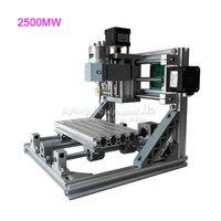 GRBL Control Mini CNC Engraving Machine CNC 1610 Laser 2500MW 2 In 1 Laser Cutting Machine