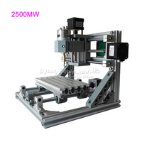 GRBL Control Mini CNC Engraving Machine CNC 1610 Laser 2500MW 2 In 1 Laser Cutting Machine