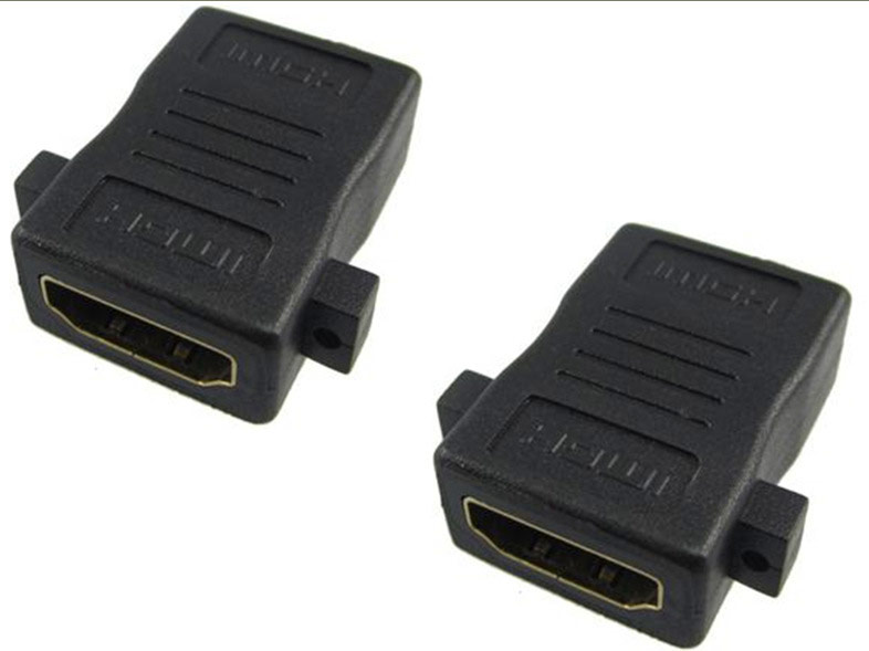 50pcs lot HDMI Female to HDMI Female Coupler Extender Adapter Connector for HDTV 1080P