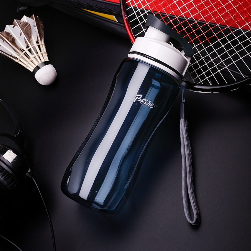 Sports Water Bottle with Rope Leakproof My Bottles Drinkware Outdoor Tour Portable Camp Bottles 560ml H1119