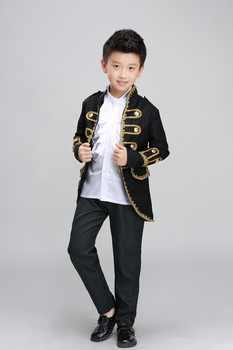Free ship children's boys medieval suit prince stage performance costume renaissance cosplay one set is jacket,pants with shirt! - DISCOUNT ITEM  0% OFF All Category