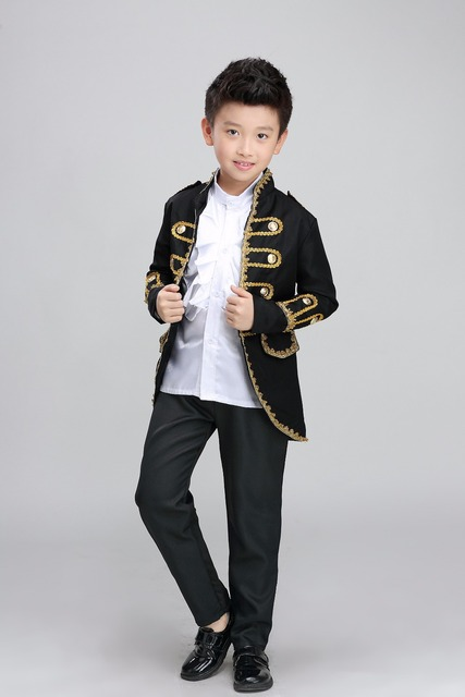 Free ship childrenu0027s boys medieval suit prince stage performance costume renaissance cosplay one set is jacket  sc 1 st  AliExpress.com & Free ship childrenu0027s boys medieval suit prince stage performance ...