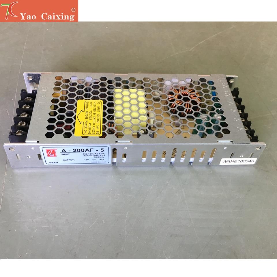 5v40a200w Switch Power Supply 110V/220V Led Screen Power Supply Control P2 P2.5 P3 P4 P5 P6 P8 P10 Rgb Dot Matrix Led Panel