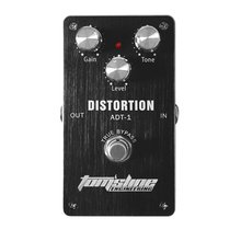 Aroma ADT-1 Distortion Electric Guitar Pedal Aluminum Alloy Housing Guitar Effect Pedal True Bypass High Quality Guitar Parts цены