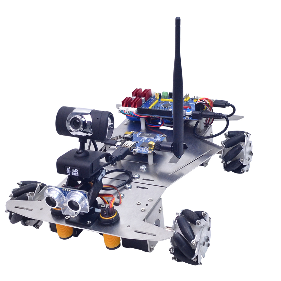 2019 New XR Master Omni-Directional Mecanum Wheel Robot - WIFI + Bluetooth Version With High Quality