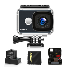 SHOOT T31 Waterproof WiFi 4K Action Camera 1080P/60FPS Ultra HD Cam with 170 Degree Wide Angle Lens Accessories for Go Pro 5 h9