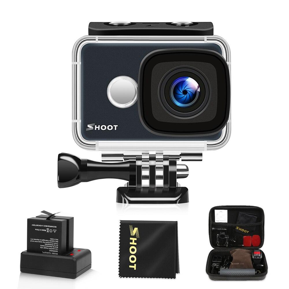 SPARARE T31 WiFi Impermeabile 4 K Action Camera 1080 P/60FPS Ultra HD Cam con 170 Gradi Obiettivo Grandangolare Accessori per Go Pro 5 h9