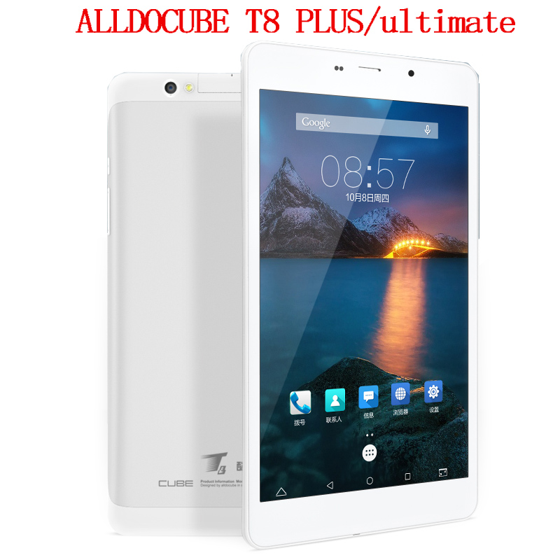 Cube T8 Ultimate Alldocube T8 Plus Dual 4G Phone Tablet PC Octa Core 8 Inch Full HD 1920*1200 Android 5.1 2GB Ram 16GB Rom GPS