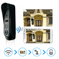 Two way intercom Wireless WIFI Video Doorphone Door Entry Security System support Snap&Recording&Transfer Call&Motion Detection