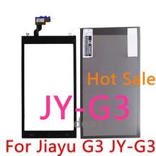 G3 Probado 100{e3d350071c40193912450e1a13ff03f7642a6c64c69061e3737cf155110b056f} Original Negro Frente Táctil Digitalizador Lente de Cristal Para JY-G3 JIAYU G3 Panel Táctil de Reemplazo
