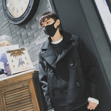 Inverno 2017 Winter White Duck Down New Leisure Worsted Loose Coat Jackets Clothes Warm Casaco Masculino Cotton Casual Parka Men