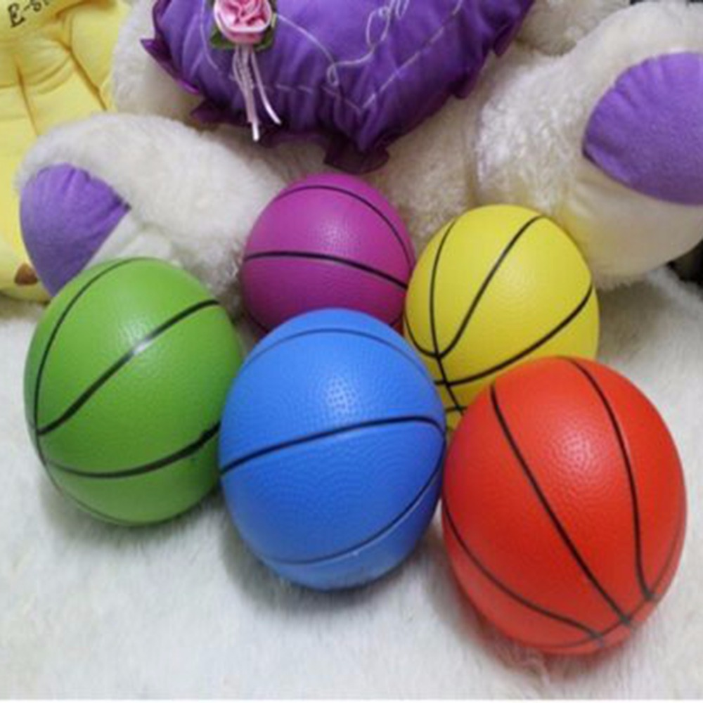 """8/"""" Plastic Inflatable Football Sports Training Beach Ball Toys Game Party Bag"""