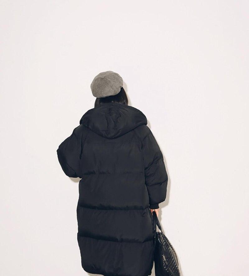 Coréen À Veste Femmes En Manteau Longues Ja014 Green Rembourré Capuchon 2016 Mince Style Black Avec Hiver army Chaud Poche Mode Grande Coton Étoiles Parkas qnYxO5zwS