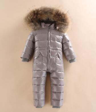 new 2018 hot sell winter cold-proof warm Baby Romper newborn overalls High quality Outdoor For winter coat newborn overalls 2018 spring winter warm