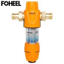 FOHEEL центральный фильтр для предварительной очистки воды, механический фильтр для защиты от обратного осмоса, очиститель воды 40 мкм, очистка