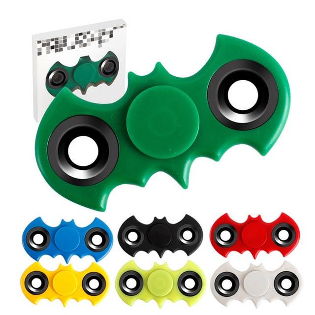 Hand Spiner Fidget Batman EDC Handspinner Stress Cube Fidget Spinner Tri-Spinner Fidget...