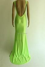2016 neue Stil Frauen Backless Langes Kleid Vestido Festa Solide Sleeveless Elegantes Cocktail Party Kleid backless Vestidos