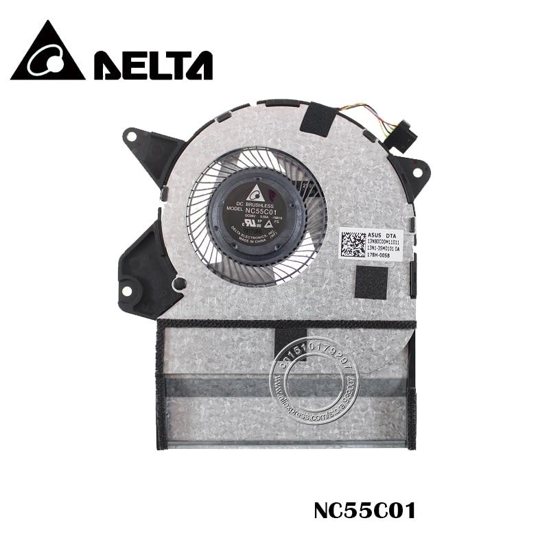 New for ASUS UX360U UX360UA UX360UA 1C Q324UA 13NB0C00M11011 NC55C01 16B16 CPU cooling FAN