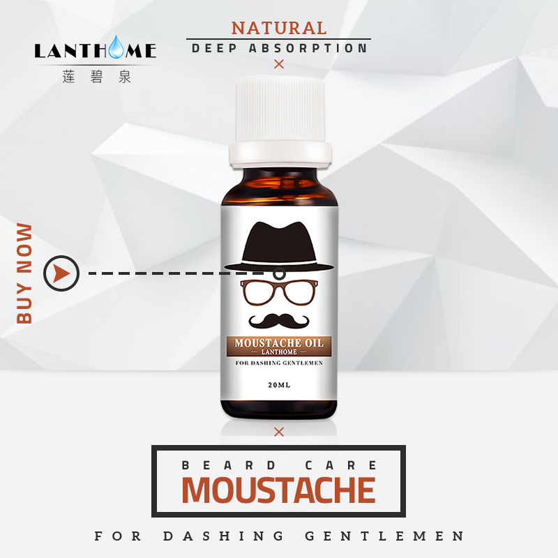 Organic Beard Oil Beard Essence Moustache Beard Growth Oil Spray Hair Growth Products for Men Effect Serum Beard Wax Hair Growth 1