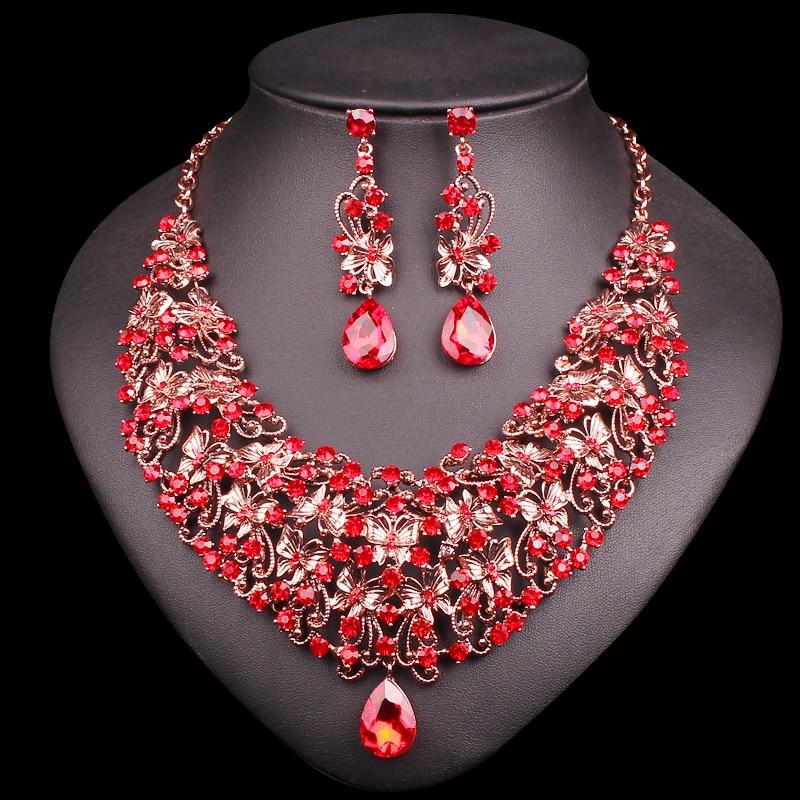 Aliexpress.com : Buy Fashion Butterfly Necklace Earring ...