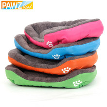 PAWZRoad S-3XL Pet Dog Bed Warming Dog House Soft Material Dog Cat Kennel Mat Warm Winter for Big Dog Cat Pet Products 4 Colors