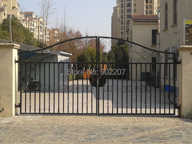White Wrought Iron Gates Big Iron Gate  Wrought Iron Front Garden Gates