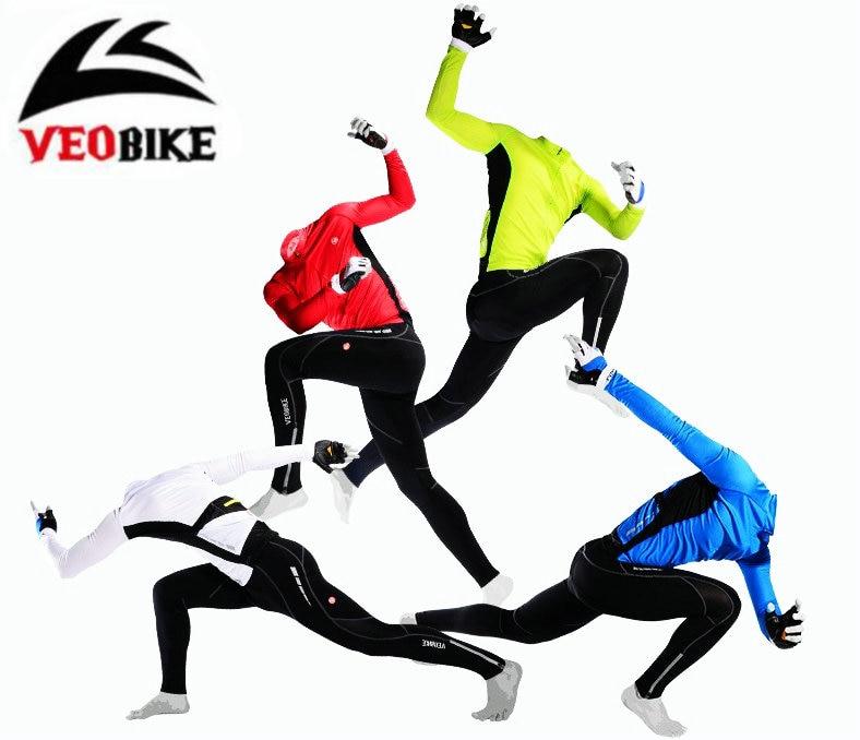 veobike women s cycling long sleeves zippered jersey top white multicolored l VEOBIKE 2017 Race-Class Long-Sleeve Cycling Suits International Pro Cycling Wear BTM jersey sets 4 colors bike cycling sets