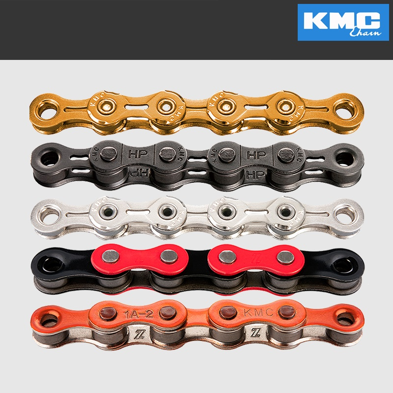 KMC 11 Speed Bicycle Chains Road Bike Chain 116 Links w Missing Connect Link Racing Cycling