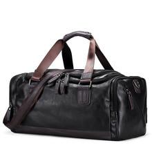 ABDB حقائب اليد خمر الرجال عادية حمل للرجال سعة كبيرة المحمولة حقائب كتف الرجال موضة حقائب السفر حزمة