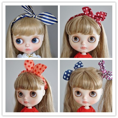 Free Shipping 5pcs/lot Doll Accessories Blyth Doll Headdress Suitable For Blyth ICY Doll Headband