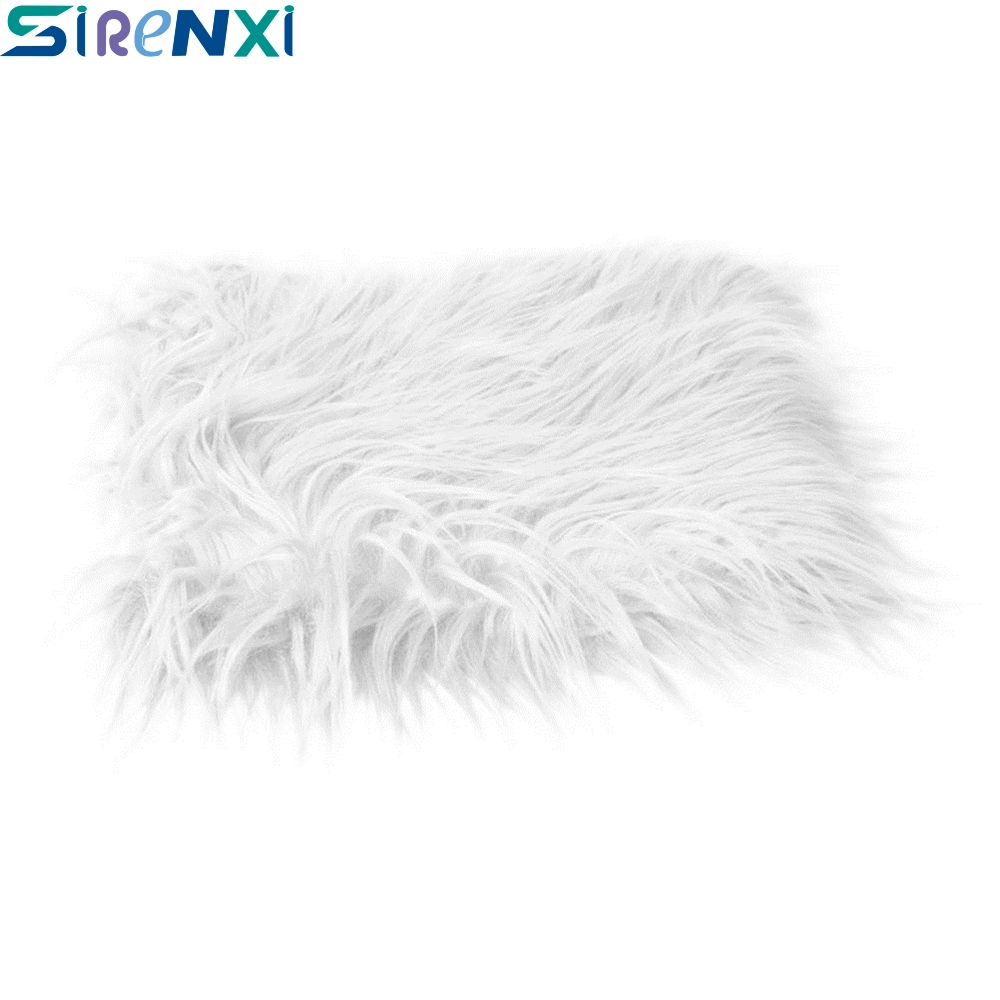 60*50cm Photography Photo Props Soft  Faux Fur Blanket Rug Newborn Baby Kit