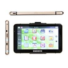 """KMDRIVE """" дюймовый сенсорный экран 256 м 8 ГБ Автомобильный gps навигатор Sat Nav комплект бесплатные карты"""