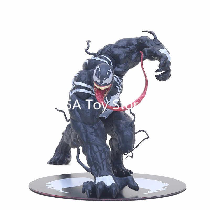 Maravilha ARTFX Brinquedos The Amazing Venom Spider Man Figura Collectible Modelo ARTFX 1/10 Scale Ação PVC Figuras Superhero Veneno