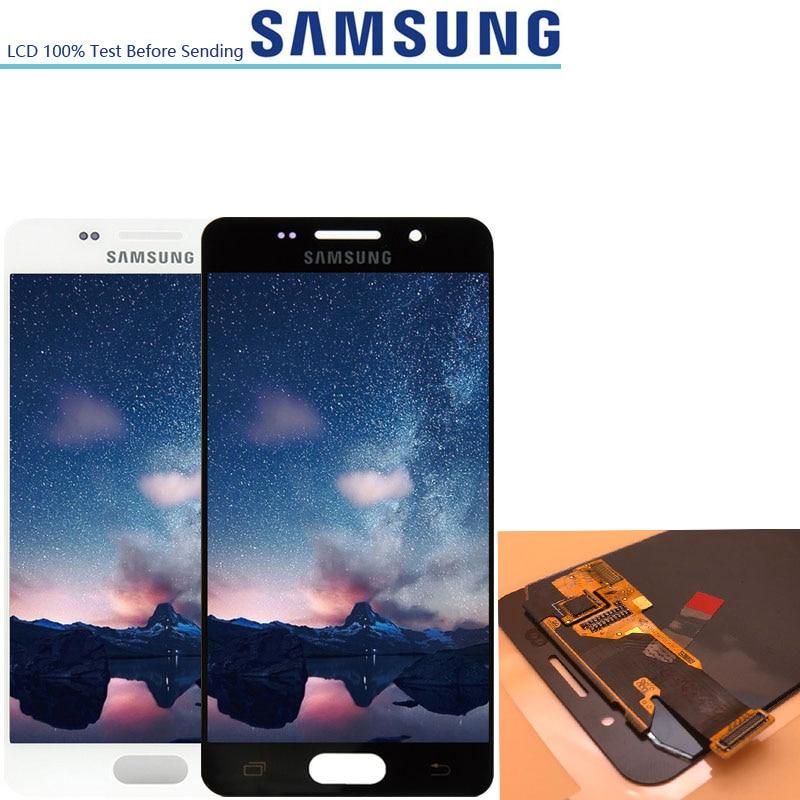 4 7 ORIGINAL Display For Samsung Galaxy A3 2016 A310 A3100F A3100 A310F LCD Screen Digitizer