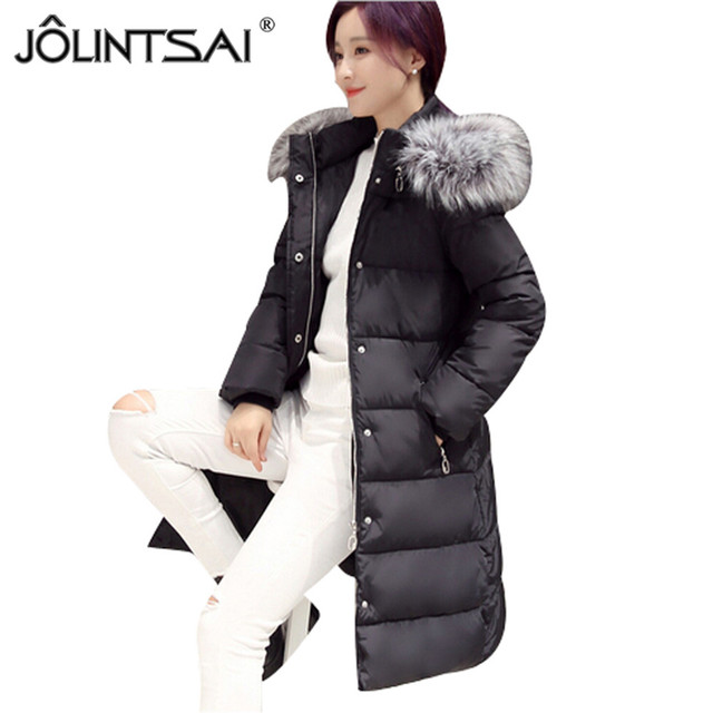 Hot Sale Fur Coat Winter Coats Women Casual Plus Size Midumn-length Jackets Solid Color Slim Fur Collar Hooded Coats