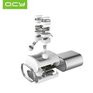 Image 4 - QCY T1 プロタッチ制御 TWS Bluetooth ヘッドフォンイヤホンスポーツワイヤレスマイクと 750 mah 充電ケース