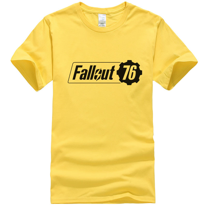Fallout 76 Casual Summer TShirt 100% Cotton
