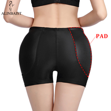 FAKE ASS Control Panties Seamless Shapewear Hip Enhancer Booty Lifter Padded Butt  Boyshorts Shorts Sexy Lingerie Women