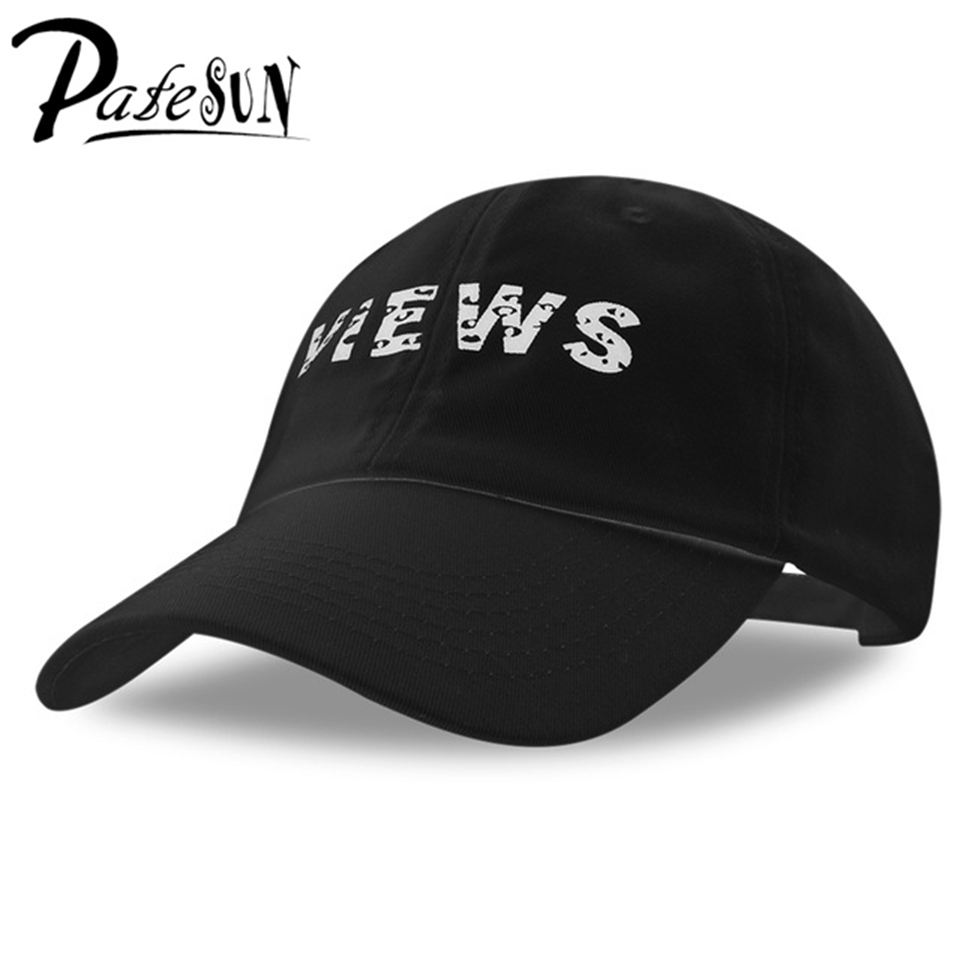 все цены на  2017 High Quality VIEWS Print gorras Baseball Caps fashion Men Letter Snapback skateboard kpop hat Women novo osso berretto uomo  онлайн