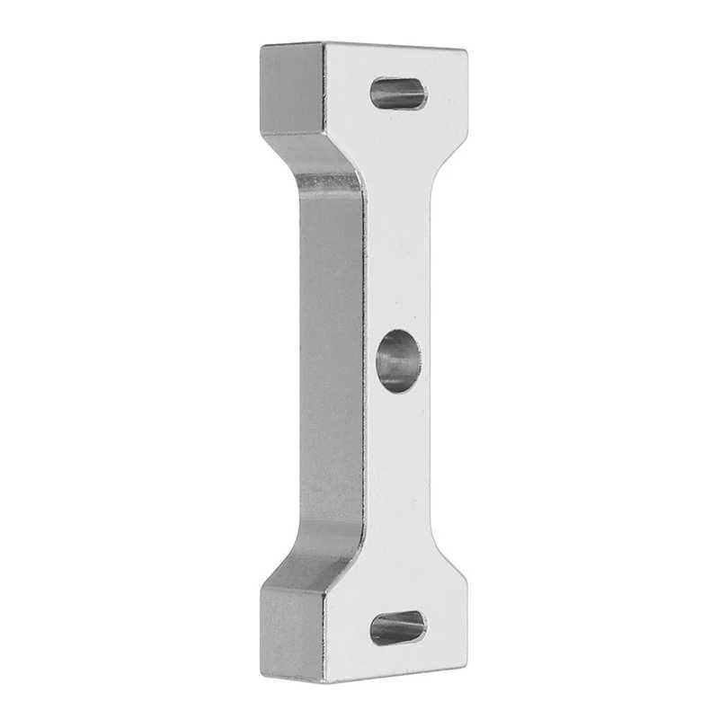 Voor Wpl C14 C24 B14 B16 B24 1/16 Rc Auto Metalen Beam Center Vaste Mount Seat Onderdelen Accessoires Cooler Perfect pak Zilver