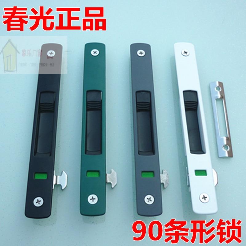 Spring Brand Premium 90 Aluminum Alloy Sliding Doors And Windows Hook Lock Bar Door Window