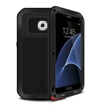 Для Samsung Galaxy S7 Случае Противоударный Водонепроницаемый + Gorilla Glass Роскошный Алюминиевый Металлический Каркас Чехол Для Samsung S7 Телефон Дело